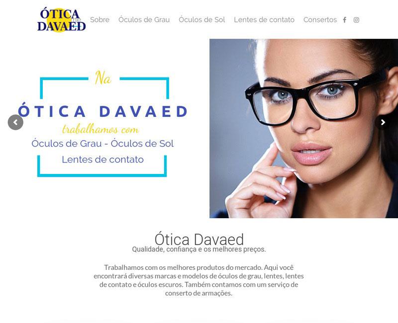 Cliente Ótica Davaed
